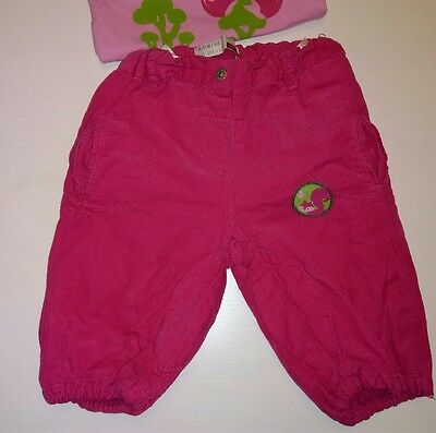 """Pink corduroy baby trousers. """"Name It"""". 4-6m"""