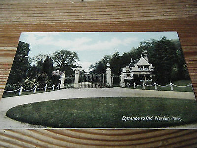 Early  Rush  And  Warwick Card - The Entrance To Old Warden Park - Bedfordshire