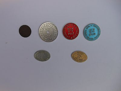 Mixed Collection of Coop Tokens
