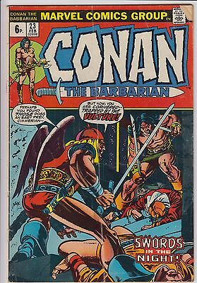 Conan the Barbarian 23  Roy Thomas & Barry Smith - 1st app Red Sonja pence copy