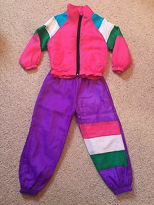VINTAGE Child's Shell Suit Approx Age 3/4