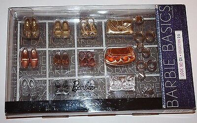 Rare BARBIE Black Label  Accessory Basics - Look 01 Collection 2.5 - T7932 - NEW