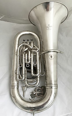Besson England New Standard 3 Valve Compensating Eb Tuba - Complete Overhauled
