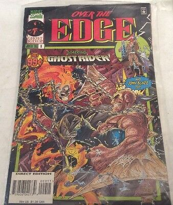 Marvel Comics 'Over The Edge Starring Ghost Rider' Vol 1 #9 July 1996