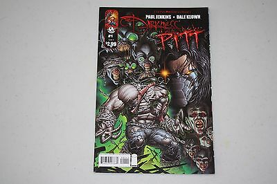 Top Cow Comics Darkness Pitt #1 Cover A 2009 First Printing