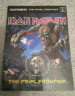 IRON MAIDEN - The Final Frontier, Authentic Guitar Tab Songbook, kompl. Album!