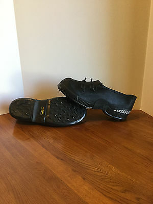 Ice cleats, 2- Buckle Rubber Overshoe, sz 12, Tracktion, w/built in studs nwot