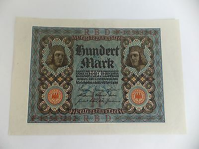 German Banknotes - 100 Mark Uncirculated quality - 1920