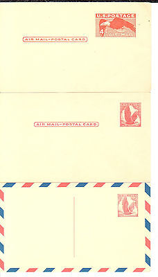 UXC1 thru UXC13 Airmails; Mint; 20 cards in all; Nice run of postal cards.