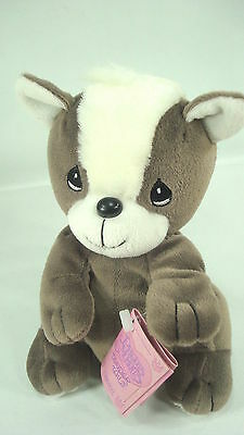 Precious Moments Tender Tails Plush Skunk With Tags 1999 Cute Decorative