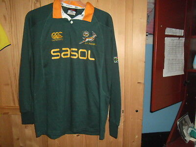 south africa rugby shirt   SIZE M