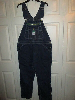 Men's Liberty Blue Jean Bib Overalls Work Farm  38-29