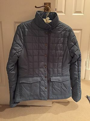 Blue Dubarry Quilted Jacket Size 10