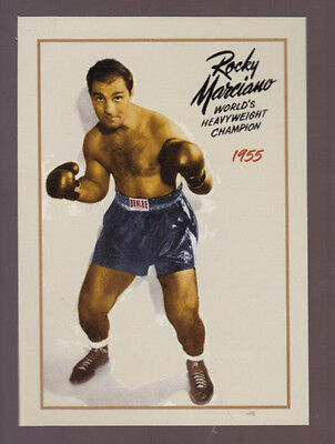 1955 Rocky Marciano undefeated World Heavyweight Boxing Champion only 500 exist