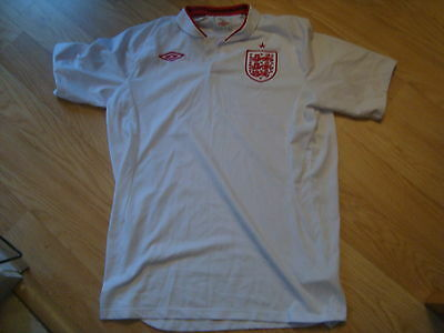 """England Home Football Shirt Large Adults 42"""" Chest"""