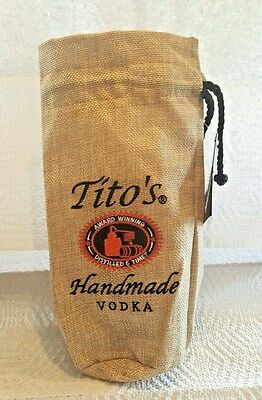 Tito's Handmade Vodka Canvas Bag
