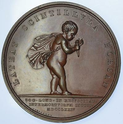 Royal Humane Society, instituted 1774, Copper Medal, c.1826 by Pistrucci