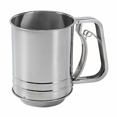 New Baker's Secret 3-Cup Stainless Steel Flour Sifter Free Shipping USA