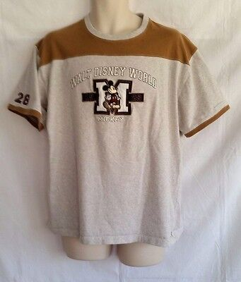 Walt Disney World Mickey Mouse Shirt 1928 - Large M With Mickey On Front - Nice!