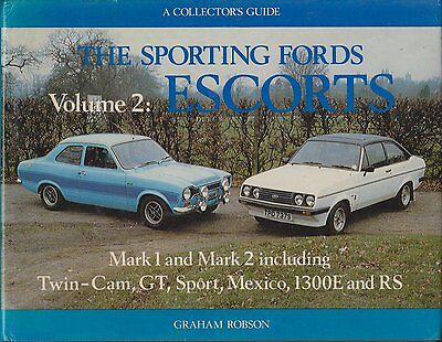 Ford Escort Twin Cam Gt Mexico Rs1600 Rs2000 68-Design & Production History Book