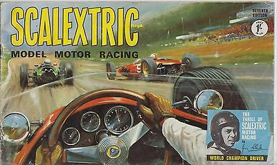Scalextric Electric Slot Car Racing 7Th Ed ( 1966 ) Product Range Catalogue