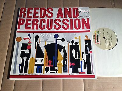 Reeds And Percussion - Featuring The Command All Stars - Lp - Rs 820 Sd - Usa