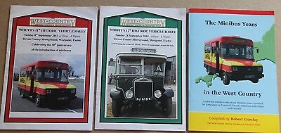 Bus Coach Interest The Minibus Years in the West Country ,Paperback +2x Pamphlet