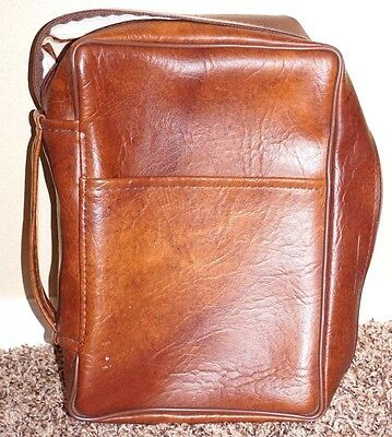 Scripture Case Tote Large Size Bible Triple Cover Brown LDS Mormon Scrip-Sure