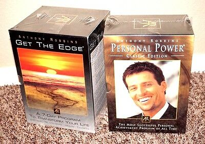 Get the Edge A 7-Day Program to Transform Your Life by Anthony Robbins 17 CDs