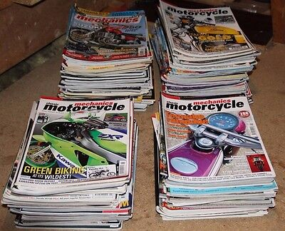 'classic Motorcycle Mechanics'  Magazine' Job Lot 133 Copies