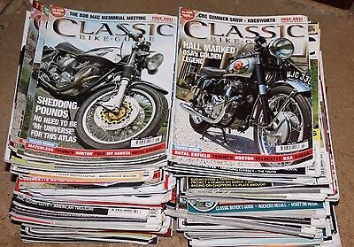 Classic Bike Guide Magazine, 106 Copies Job Lot