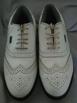 Cotswold white water resistant golf shoes men's size 10