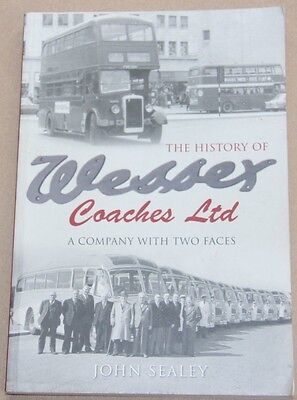 History of Wessex Coaches Ltd a Company With Two Faces. Author John Sealey