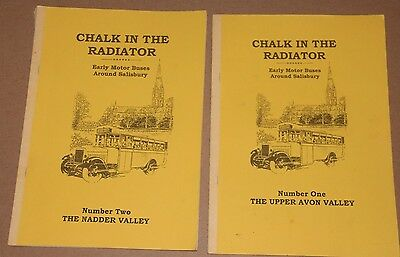 2 x Books Bus /Coach Interest -Chalk in the Radiator 1&2 ,Paperback, R Grimley