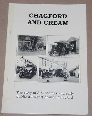 Bus /Coach Interest -Chagford and Cream, Paperback, Author Roger Grimley