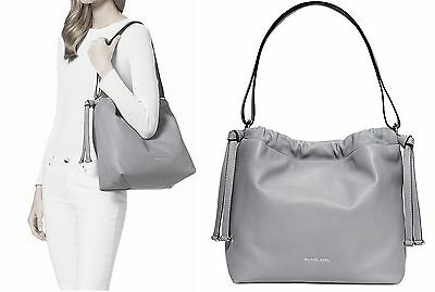 Michael Kors Tasche/Bag ANGELINA LG Convertible Shoulder Bag DOVE/Grau NEU!