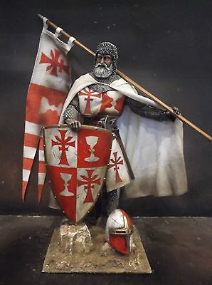 """12"""" Custom Guardian Knight Of The Holy Grail Medieval Crusader 1/6 Figure Ignite"""