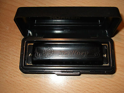 Used Hohner Pro Harp Harmonica Key Of A