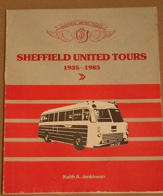 Sheffield United Tours: 1935 - 1985 Keith A Jenkinson  (Paperback) 1985