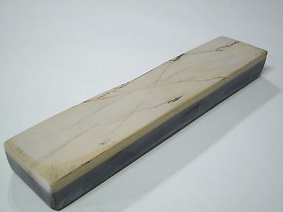 A Nice Sized Belgian Coticule sharpening stone / razor hone (La Veinette)