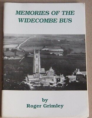 Bus /Coach Interest - Memories of the Widecombe Bus ,Paperback, Roger Grimley