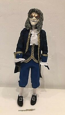 "Doctor Who Clockwork Man 12"" Figure  Blue Coat With Weapon"