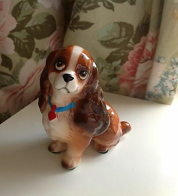 """Vintage Disney Lady from Lady and The Tramp figurine 4"""". - 10cm tall"""