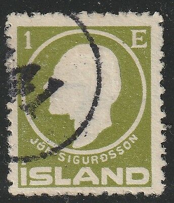 "Iceland[z001d] 1911.Scott.#.86.Used  Number Cancel "" 141 """