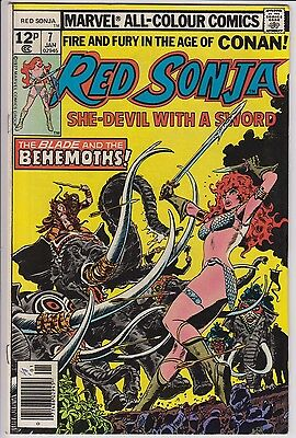 Red Sonja 7 from January 1978