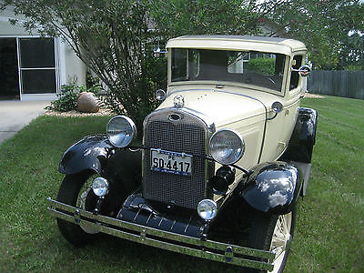 1930 Ford Model A  1930 Ford Model A Coupe 5 Windows rumbler seat