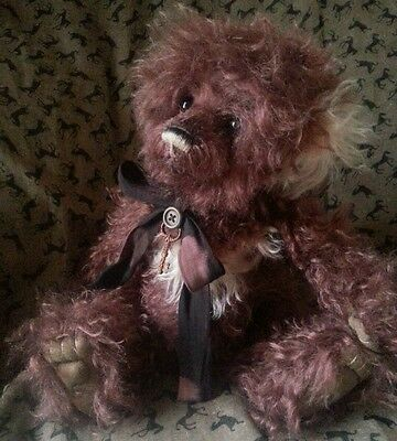 CHARLIE BEARS DAYDREAMER  limited edition mohair bear with bag and tag