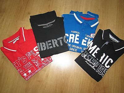 Lot 4 polos / tee-shirts manches courtes comme NEUFS en taille 10 ans