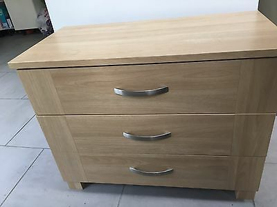bedroom furniture chest and wardrobe