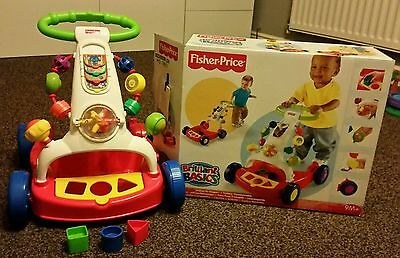 Fisher Price Baby Walker (Walker-to-Wagon), 9months+